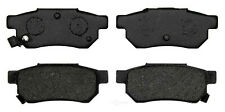 Disc Brake Pad Set-Organic Disc Brake Pad Rear ACDelco Pro Brakes 17D374