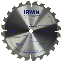 IRWIN Tools Classic Series Carbide Table / Miter Circular Saw Blades, 10-Inch,
