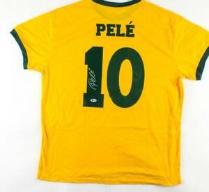 Pele Signed Jersey (Beckett COA)