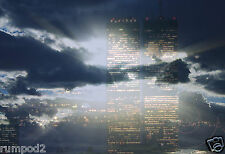 Twin Towers - World Trade Center - Commemortive Print/Poster - 9-11