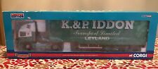 ERF EC Curtainside K. & P. IDDON CC11912 1-50 Hauliers of Renown New in Box