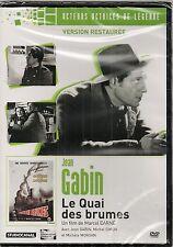 "DVD ""LE QUAI DES BRUMES"" - JEAN GABIN - MICHELE MORGAN - neuf sous blister"