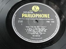 "The Beatles ""HELP"" 1965 UK  1st Press MONO PMC 1255 British Invasion LP. EX/VG+!"