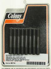Harley 48-65 Panhead Rocker Arm Stud Kit OEM 17647-48 Colony 9917-8