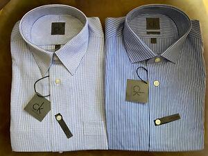 ck Calvin Klein Men's Dress Shirts Long Sleeve Non-Iron size 15.5 2 for $15