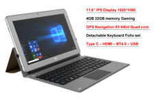 "11.6"" IPS intel X5 8350 2 in1 4GB 32GB Windows 10 GPS + Keyboard set tablet PC"