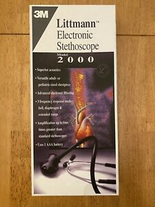 3M Littmann Electronic Stethescope Model 2000