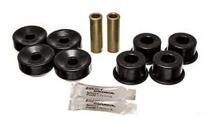 Energy Suspension 16-8108G (Kit) Bushing Kit Hyper-Flex Black Polyurethane