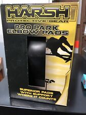 Harsh Pro Pack Elbow Pads - Black - Protective Gear Small