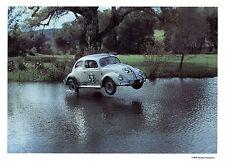 Vintage Unused Walt Disney Production Herbie The Lovebug Fan Postcard 5 x 7 Card