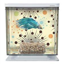 NEW Marina Betta Aquarium Starter Kit, Boy Fireworks FREE2DAYSHIP TAXFREE