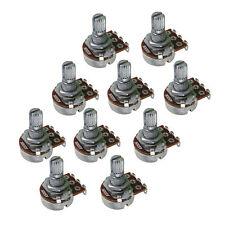 10PCS A500K Tone Pots Electric Guitar Pots Short Split Shaft Potentiometers