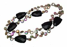 Semi Precious Stone Jewellery Statement Necklaces Double Strand Necklace