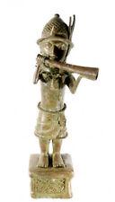 Statue de palais Bamoun Bamun  huge brass man african B