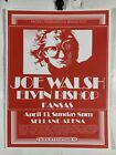 Vintage Pacific Presentations Joe Walsh Elvin Bishop Kansas Peace Posters Poster