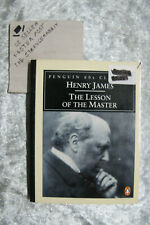 The Lesson Of The Master - Henry James penguin 60s classics OzSellerFasterPost!