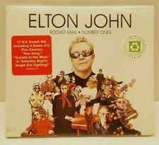 ELTON JOHN -ROCKET MAN NUMBER ONES- Greatest Hits/Smash Hits CD  *** NEW***