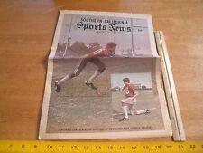 Southern California Sports News 1973 football news magazine #1 High Schools