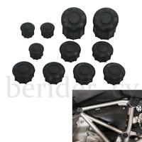 11Pcs Frame Hole Cover Caps Plug Decor For BMW R1200R 2015-2019 Frame Cap Set