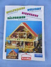 LUNDBY SWEDEN brochure publicité maison poupée Puppenhaus Doll's house Dockskap