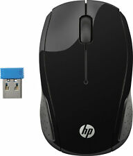 HP - 200 Wireless Optical Mouse Black Color