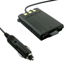 12V Car Charger Battery Adapter Eliminator For BAOFENG UV5R Plus UV5RB UV5RC A52