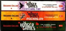 THE HUNGER GAMES + Catching Fire + Mockingjay BOX SET Suzanne Collins FREE POST