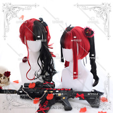 Sweet Lolita Gradient Hairpiece Gothic Cury Hair Wig Harajuku Ponytail Cute#R294