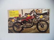- RITAGLIO DI GIORNALE ANNO 1975 - MOTO APRILIA SCARABEO CROSS 125 HIRO