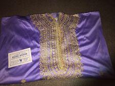 Tanger, Moracco Fancy Caftan Bazar Agadir Moroccan Dress Gown Purple (JD)