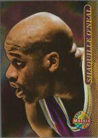 1996-97 Topps Stadium Club TSC Matrix Shaquille O'Neal #18 Los Angeles Lakers