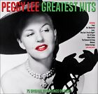 PEGGY LEE  * 75 Greatest Hits * NEW 3-CD Box Set * All Original Songs * FEVER photo