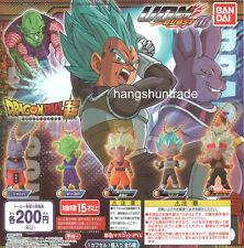 Dragon Ball Z UDM Burst 16 Son Goku SSGSS Vegeta Piccolo Champa SS3 Bardock Set