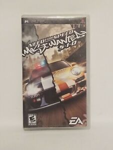 Need for Speed: Most Wanted -- 5-1-0 2010 (Sony PSP, 2010)
