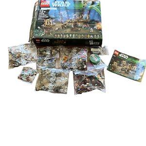 RETIRED LEGO STAR WARS 10236 - EWOK VILLAGE Not Complete