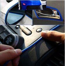 5M Flexible BLUE Trim for Car Interior Exterior Moulding Strip Decorative Line
