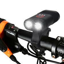 Bike Front Lamp Cycling Light USB Front Bike Headlight Safety Night Riding Lamp