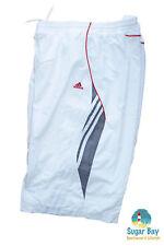 Nuevo Adidas Hombre Climalite Tenis Práctica Calzones Blanco XL