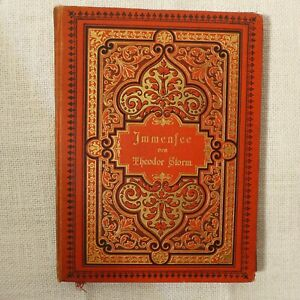 Immensee ,Antik Buch von 1902