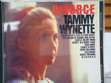 Tammy Wynette CD DIVORCE Classic Country