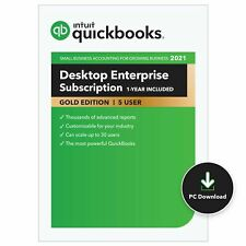 QuickBooks Enterprise - Gold Monthly Subscription