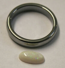 AUSTRALIAN OPAL NATURAL GEMSTONE 0.8CT CABOCHON LOOSE 5X10MM OVAL GEM OP64C