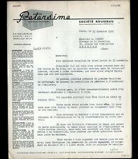 """PARIS (XVII°) INCUBATEUR-COUVEUSE-ECLOSEUSE """"PETERSIME / Ets ROUSSEAU""""  en 1955"""