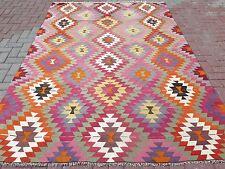 "Anatolia Turkish Classic Antalya Kilim 75,5"" x 109,4"" Area Rug Kelim Carpet"