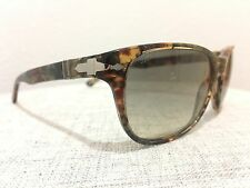 Persol Sunglasses PO 3020S 929/32 BROWN SPOTTED/GREEN 57mm 3020