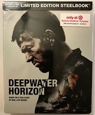 NEW DEEPWATER HORIZON BLU RAY DVD DIGITAL HD 2 DISC TARGET EXCLUSIVE STEELBOOK