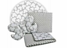 Baby Bedding Set For Cradles Baby Strollers 3in1 Blanket Pillow Mickey Mouse