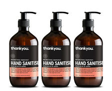 3 x Thankyou. Antibacterial Hand Sanitiser Grapefruit 500mL