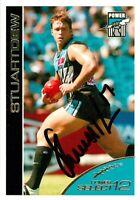 ✺Signed✺ 2005 PORT ADELAIDE POWER AFL Card STUART DEW