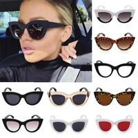 Ladies Classic Cat eye Sunglasses Small Retro Vintage Women Fashion Shades
